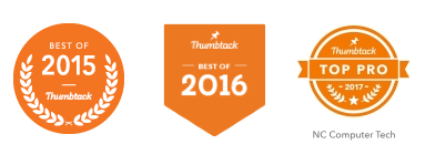 Thumbtack Best Pro of 2015 and 2016, top pro 2017